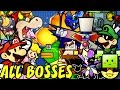 Super Paper Mario - All Bosses (No Damage)