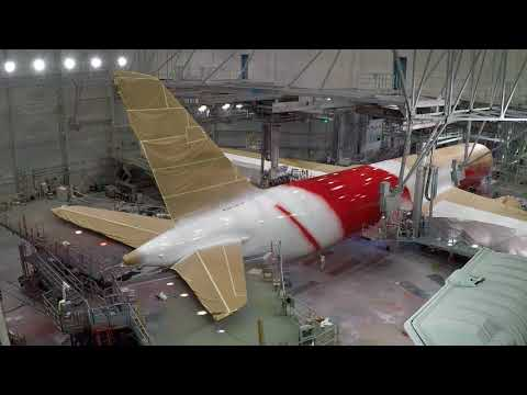 Qantas Dreamliner VH-ZND Livery Creation