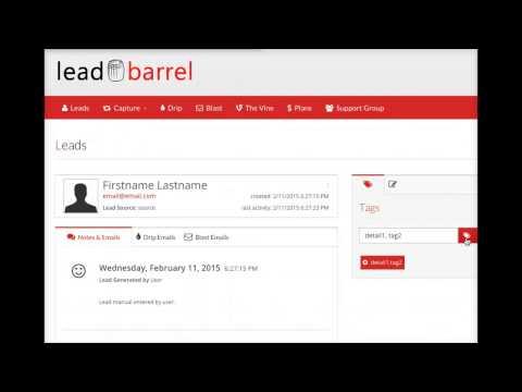 How To Manually Add A Lead - Leadbarrel.com