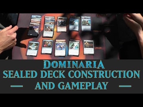 Dominaria - Building a Sealed Deck & Gameplay