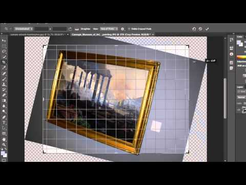 Photoshop CS6 Tutorial - Crop Tools