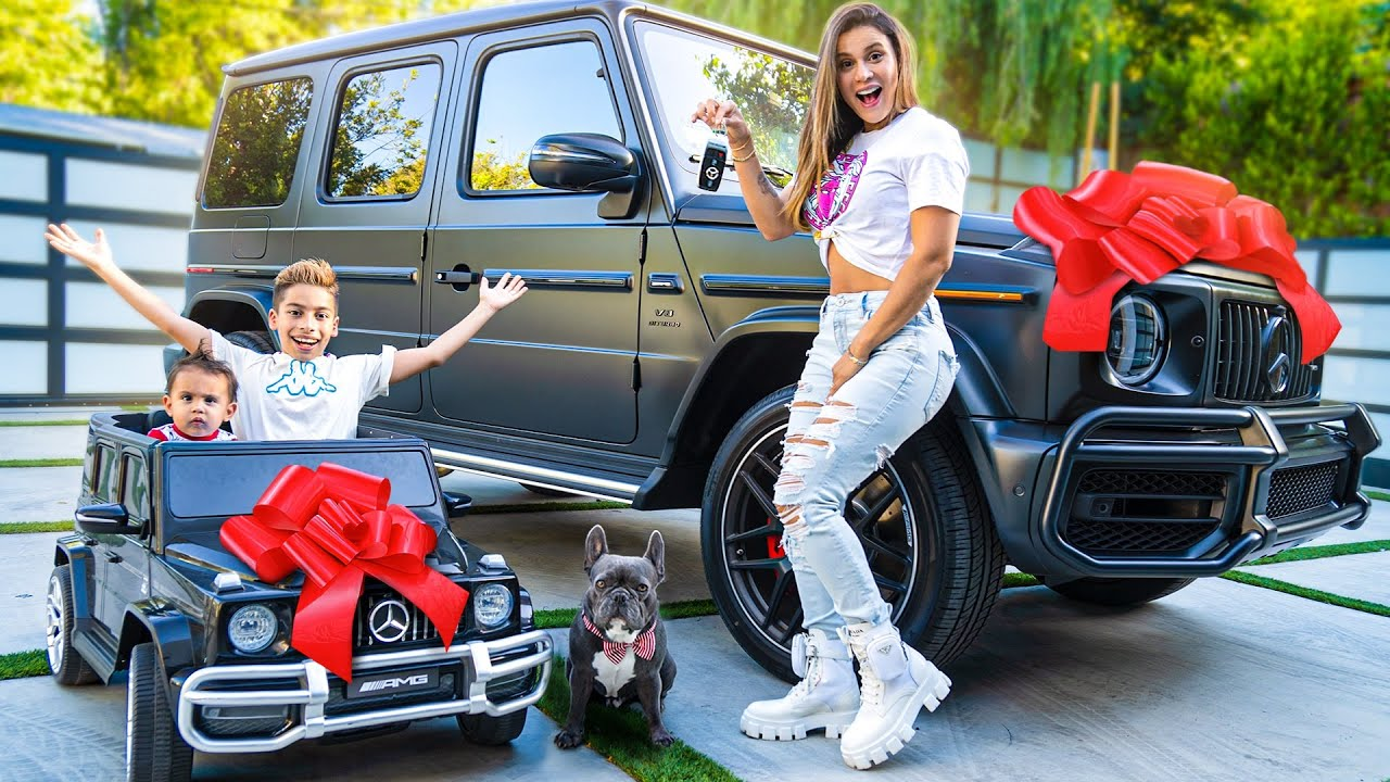 SURPRISING WIFE & KIDS with DREAM CARS! 😱   The Royalty Family