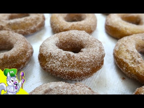 Deep Fried Cake Doughnuts| How to make Cake Donuts from Scratch