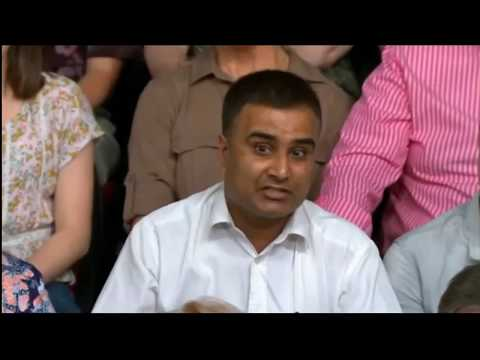 BBC Question Time: Asian man says immigration has destroyed the country