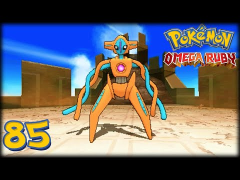 Pokémon Rubí Omega - Cap.85 [FINAL] ¡Capturando Legendarios: Deoxys, la amenaza espacial!