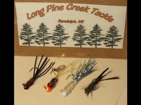 Fishing Long Pine Creek Pan Fish Lures for Crappie, Bass and Blue Gill