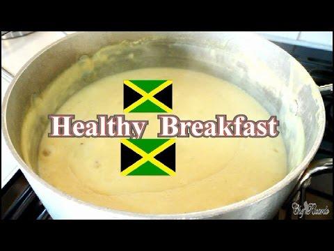 Sunday Morning Breakfast Cornmeal Porridge Recipe Part 2 Jamaica | Recipes By Chef Ricardo