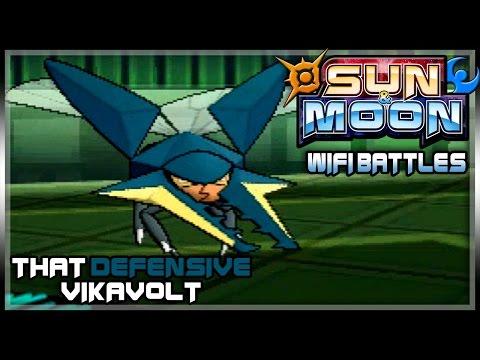 VIKAVOLT THE TANK! | Pokemon Sun & Moon LIVE Wifi Battle #02