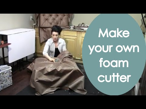 Build and upholster a Tufted Ottoman (2017) - Renee Romeo