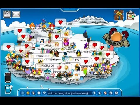 Waddle on Party - Club Penguin Rewritten
