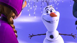 FROZEN Anna and Sven Meeting Olaf Scene (2013) Movie Clip