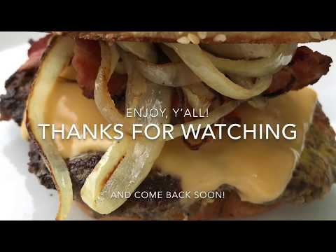 Ricky's Smashed Cheeseburger - Animal Style - How to Make an Animal Style Smashed Cheeseburger