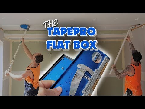 Plastering Drywall with the Tapepro Flat Box
