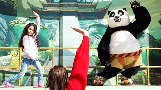 """""""Kung Fu Academy"""" FULL SHOW with Po from """"Kung Fu Panda"""" at Universal Studios Hollywood"""