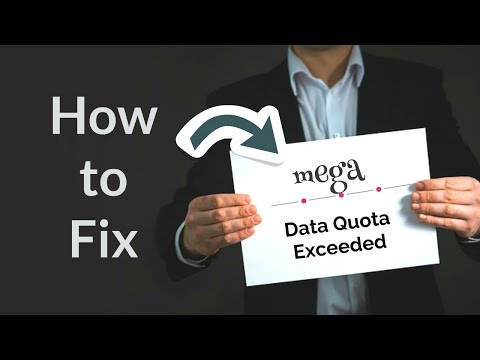 How to fix Bypass Mega nz Quota Exceeded Solved