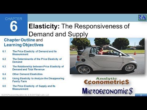 Microeconomics - Chapter 06: Elasticity: The Responsiveness of Demand and Supply