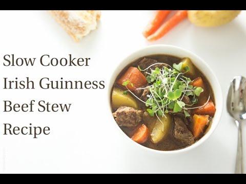 Slow Cooker Irish Guinness Beef Stew Recipe