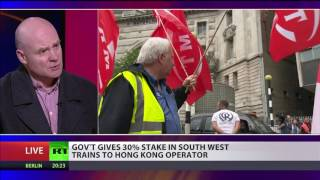 Interview with Steve Hedley, RMT Union