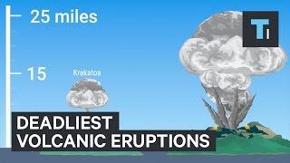 The 5 deadliest volcanic eruptions in human history