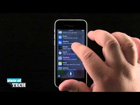 iPhone 5C Quick Tips - How to Quickly Access Siri