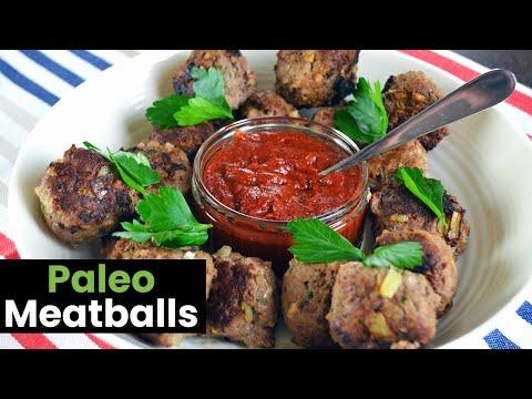 Basic Paleo Meatballs: A Healthy Meatball Recipe