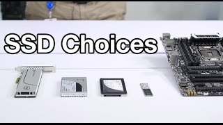 Choosing the right SSD: SATA, M.2, PCIe, and NVMe explained by JJ