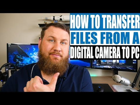 How to transfer files from your digital camera to your computer