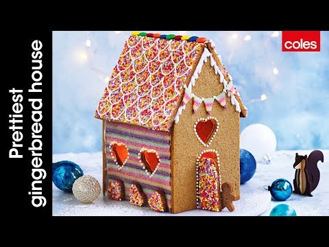 Prettiest gingerbread house ever