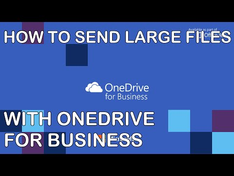 Send Large Files With OneDrive For Business