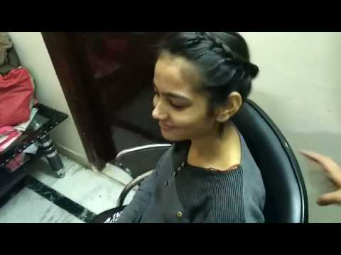 How to make stylish girls hair style in just 3 mins