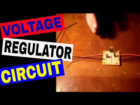 How to make a DC 12 Volt to 5, 6, or 9 Volt Converter Using a LM7805 Voltage Regulator