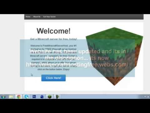 Free Minecraft Server Hosting | Working September 2014