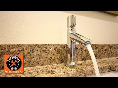 How to Install a Single Handle Bathroom Faucet...Hansgrohe's Talis Select