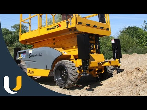 Haulotte Rough Terrain Scissor Lift | Compact 10-12 DX - United Equipment