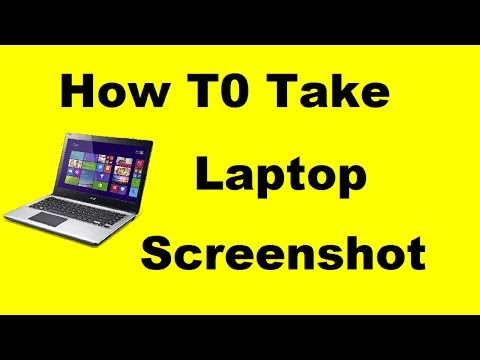 how to take screenshot in laptop [HINDI]