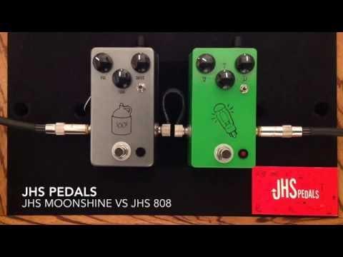 JHS Pedals Moonshine vs JHS 808