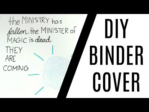 DIY Quote Binder Cover! | Emily Grace