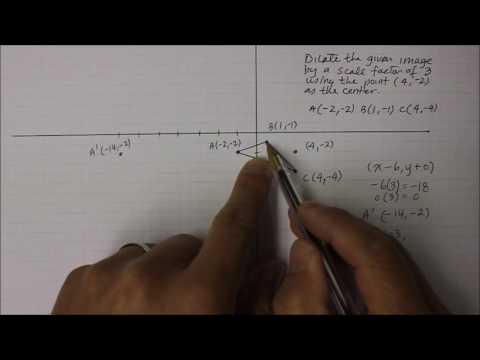 203M8 Part 1  Scale Factor with Non-Origin Center