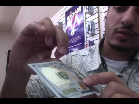 New $100 Bill Fake or real   How to tell muxed