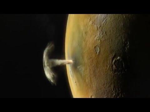 Jupiter's Moon Io Had Three Massive Volcanic Eruptions In Two Weeks