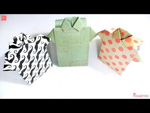 DIY - How to Make a simple T-Shirt Paper Box in Under 5 Minutes
