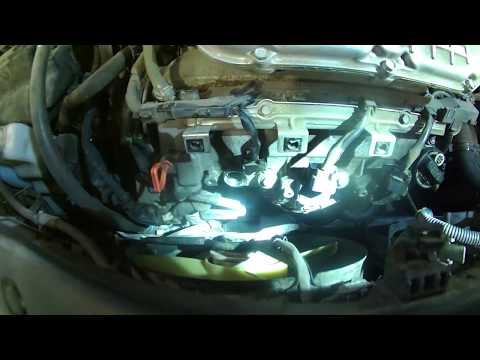 Spark plug replacement 2006 Honda Pilot 3.4L V6 install remove replace how to change plugs coil