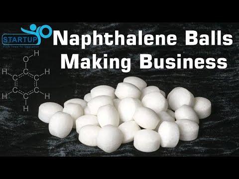 Naphthalene Balls Making Business - StartupYo