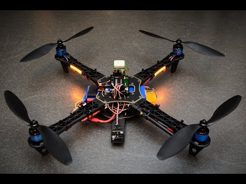 Amazing Quadcopter project made by engineering Student