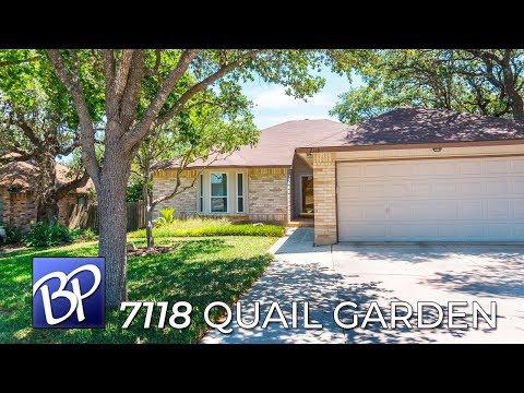 For Sale: 7118 Quail Garden, San Antonio, Texas 78250
