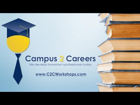 Campus 2 Careers | Developing Tomorrow's Professionals Today!