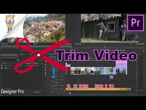 How To Trim Video In Adobe Premiere Pro CC Timeline
