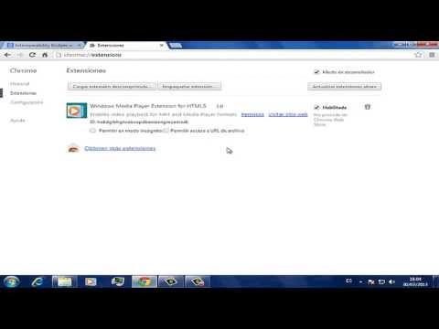 Como Instalar Extenciones para Google Chrome