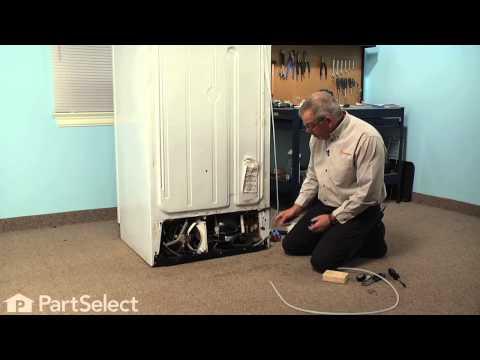 Refrigerator Repair - Replacing the Plastic Tubing (GE Part # WR17X2891)