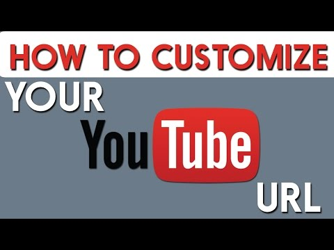 How To Customize Your Youtube URL